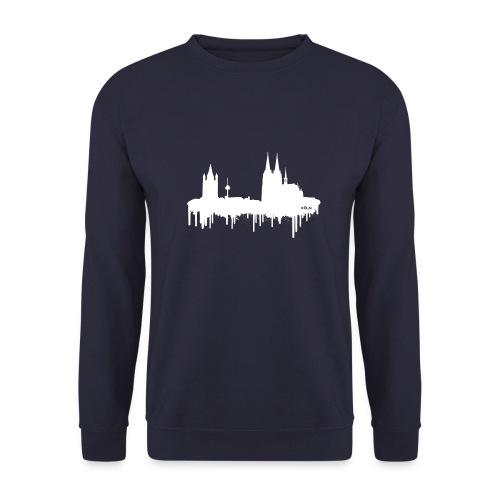 Skyline Köln - Weiß - Männer Pullover