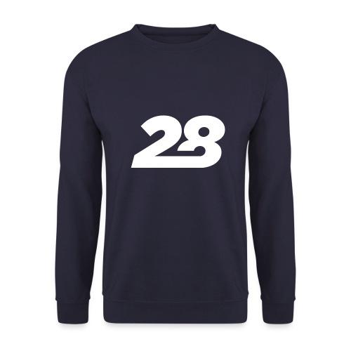 28 White - Unisex Sweatshirt
