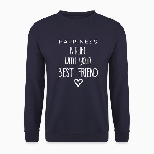 Happiness is 2nd edition white - Men's Sweatshirt