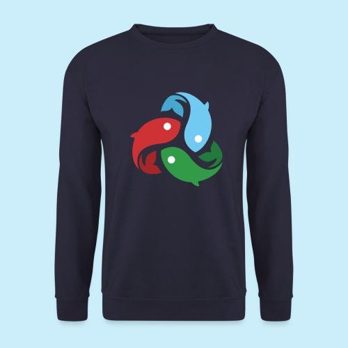 De fiskede fisk - Unisex sweater