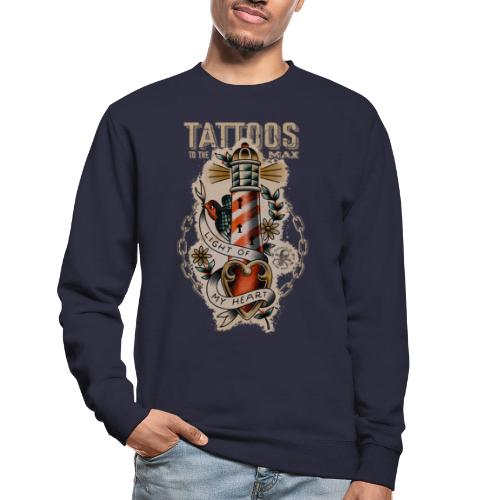 Lighthouse Leuchtturm Tattoos to the Max - Unisex Pullover