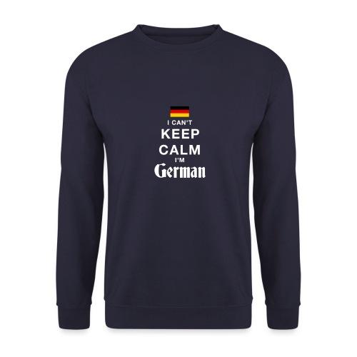 I CAN T KEEP CALM german - Männer Pullover