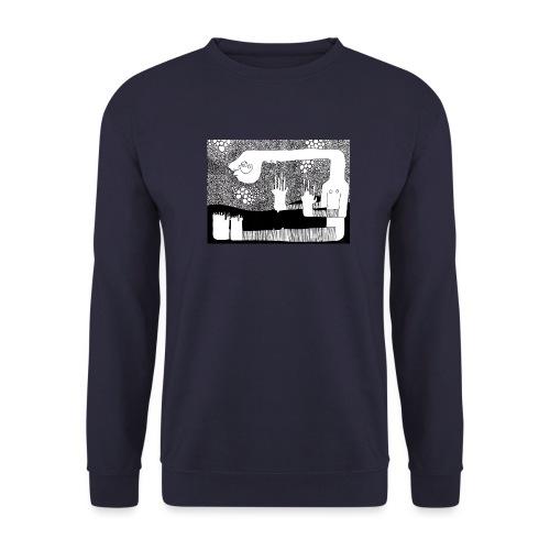 Himmel aus Punkten - Männer Pullover