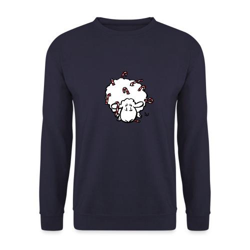 Candy Cane Sheep - Unisex Sweatshirt