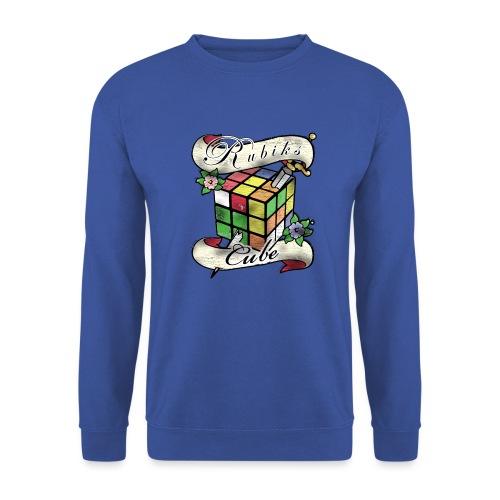 Rubik's Cube Tatoo - Unisex Sweatshirt