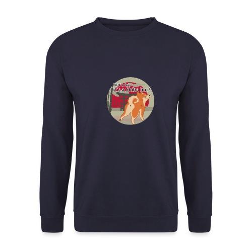 it´s a shiba inu - Männer Pullover