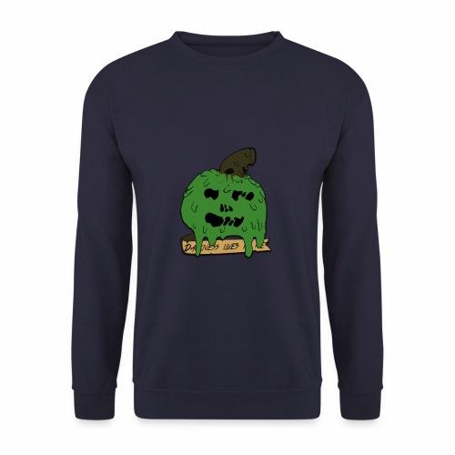 Pomme dégoulinante - Sweat-shirt Unisex