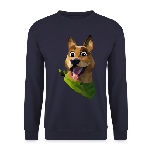 LOW POLY DOGO - Sweat-shirt Unisex