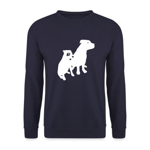 Doggy / zwei brave Hunde zum verschenken - Unisex Pullover