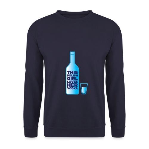 Girl loves Vodka - Männer Pullover