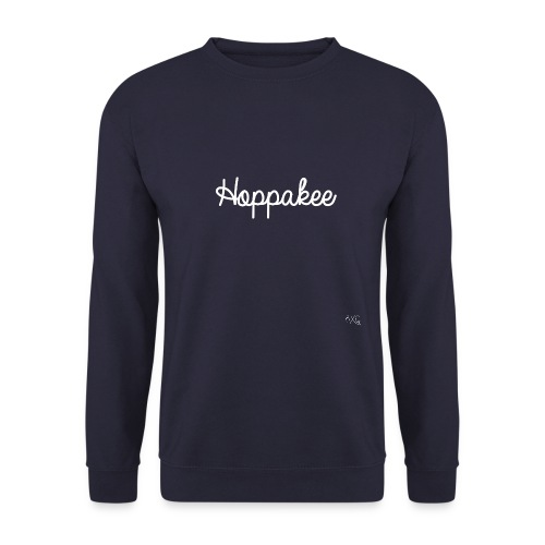HoppakeeOpdrukwit png - Unisex sweater