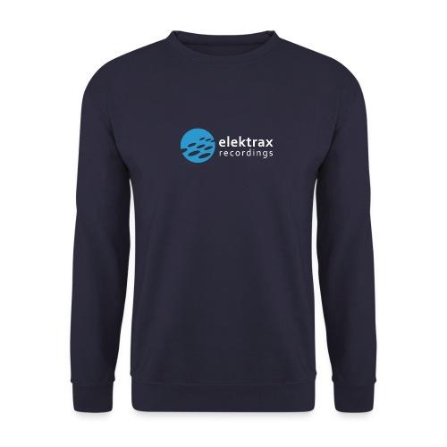 logo elektrax recordings blue - Unisex Sweatshirt