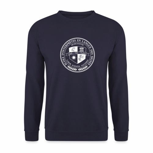 Blason école interprètes LSF - Sweat-shirt Unisexe