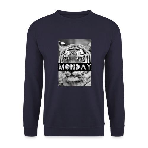 Tiger für Monday 3 jpg - Männer Pullover