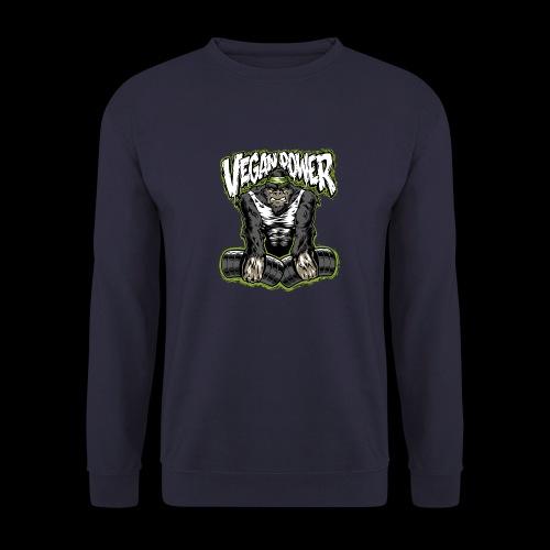 veganpower Muskel Gorilla - Männer Pullover
