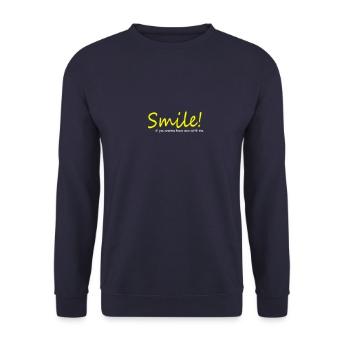 Smile for Sex - Männer Pullover