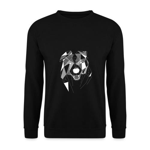 BorderCollie wit - Unisex sweater