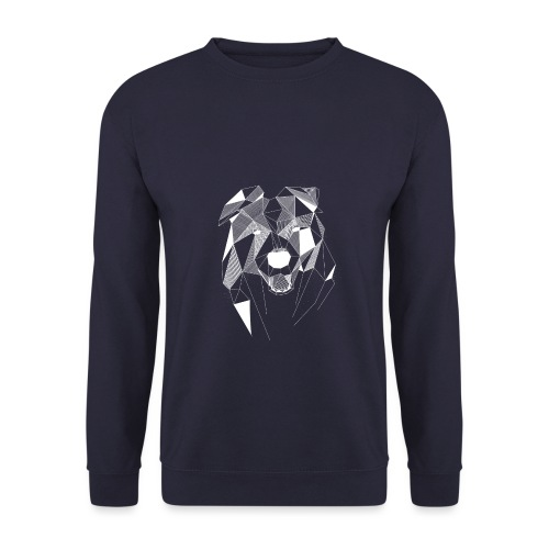 BorderCollie wit - Unisex sweater
