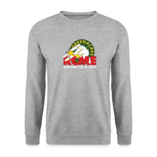 RCME Greenacres 2012 Fly In white txt - Men's Sweatshirt