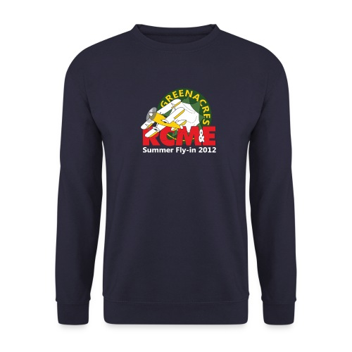 RCME Greenacres 2012 Fly In white txt - Men's Sweatshirt