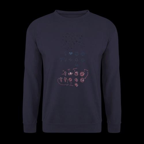 Overscoped concept logos - Unisex Sweatshirt