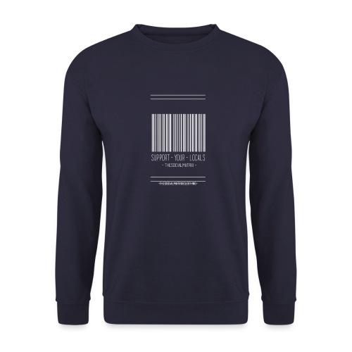 STEUN JE PLAATSELIJKE [WIT] - Mannen sweater