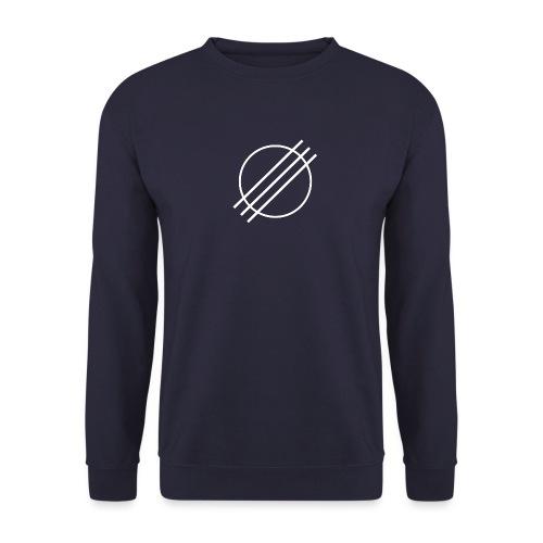 DJ Øyvind Offisiell Logo (hvit) - Genser for menn