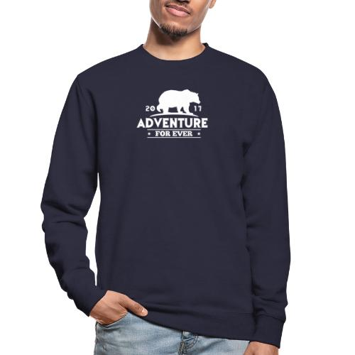 ADVENTURE FOR EVER - GRIZZLY - Felpa unisex