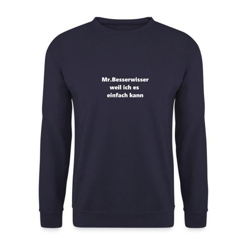 Mr.Besserwisser Trainingsjacke - Männer Pullover