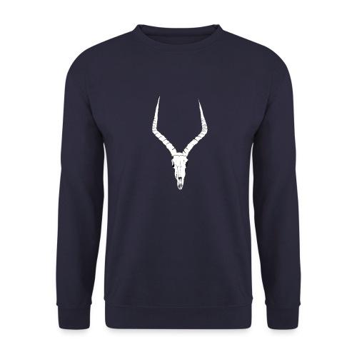 Antelope ANIMAL skull - Men's Sweatshirt