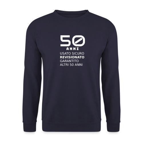 50 anni usato sicuro - Felpa da uomo