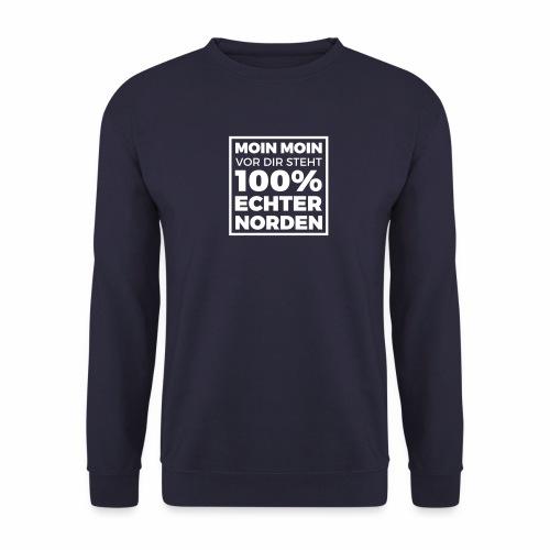 Moin Moin - vor dir steht 100% echter Norden - Männer Pullover