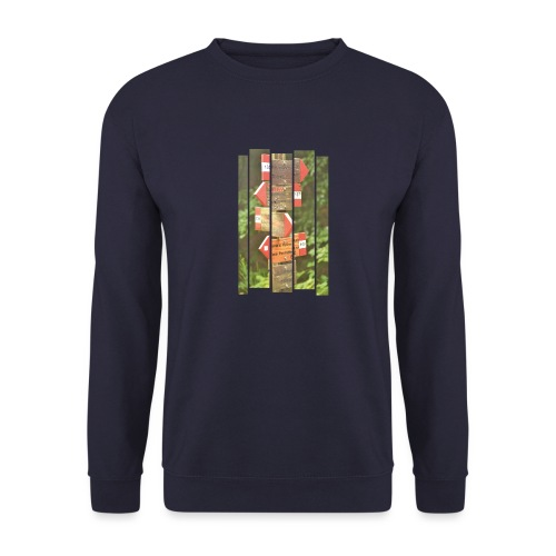 De verwarde hike - Unisex sweater