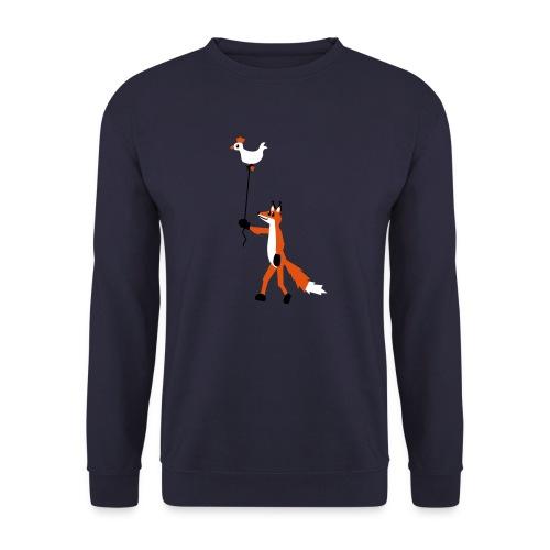 Fuchs und Henne - Männer Pullover