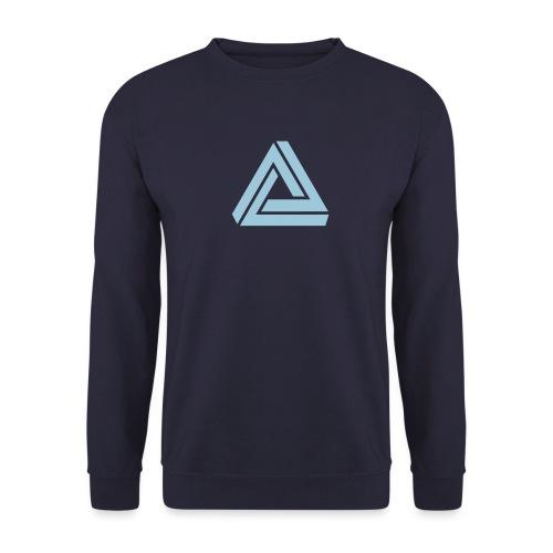 Tribar Dreieck, Unmögliche Figur Optische Illusion - Unisex Pullover