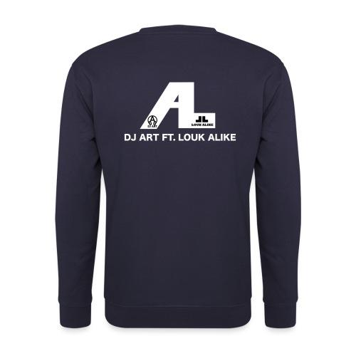 DJ Art ft. Louk Alike (donkere pull-kleuren) - Unisex sweater