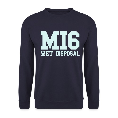 wet disposal - Men's Sweatshirt