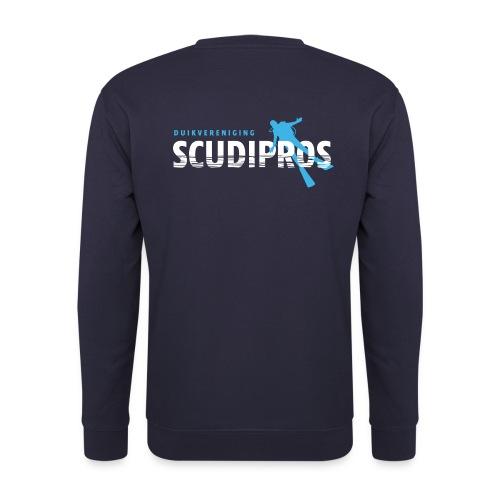 SDP Wit Lichtblauw ZA - Mannen sweater