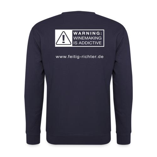 shirt neu ruecken - Unisex Pullover