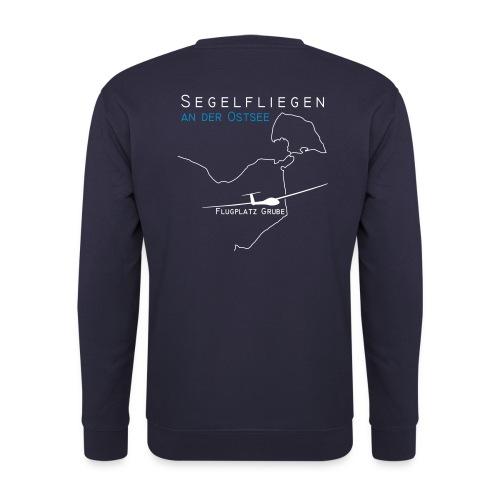 Segelfliegen an der Ostsee - Unisex Pullover