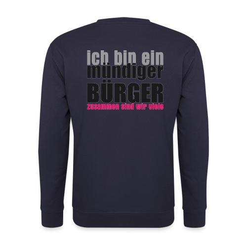 muendiger_buerger - Unisex Pullover