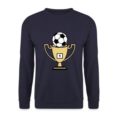 Pokal mit Fussball - Unisex Pullover