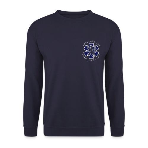 logo blue lion - Sweat-shirt Homme
