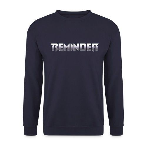logo Reminder letters - Unisex sweater