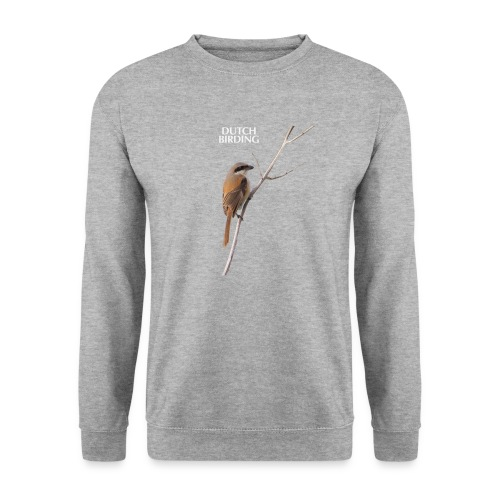 langstaartklauwier wit - Unisex sweater