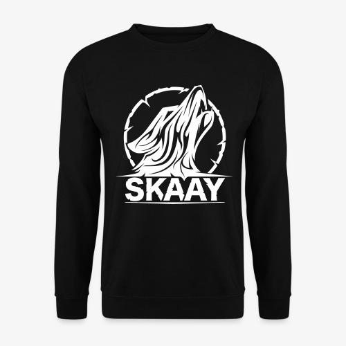 Skaay Logo Schwarz GeniyArts Vektor - Unisex Pullover