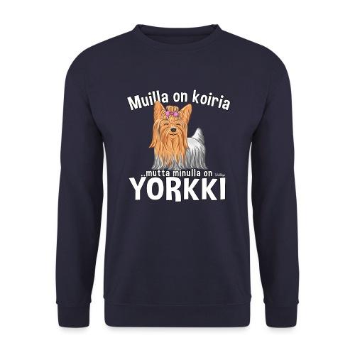 Yorkki Koiria - Unisex svetaripaita
