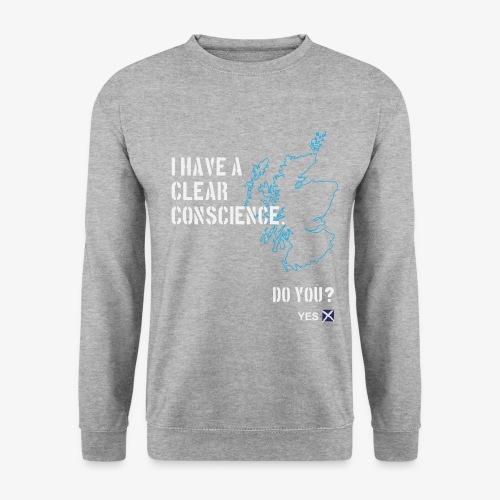 Clear Conscience - Unisex Sweatshirt