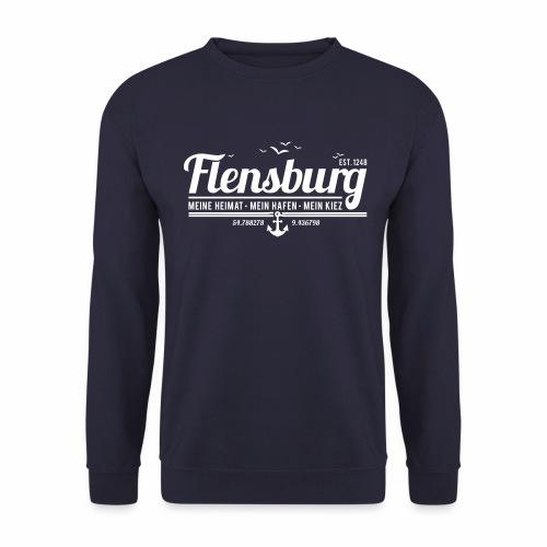 Flensburg - meine Heimat, mein Hafen, mein Kiez - Unisex Pullover