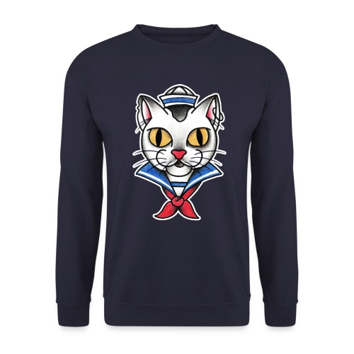 Sailorcat - Felpa unisex